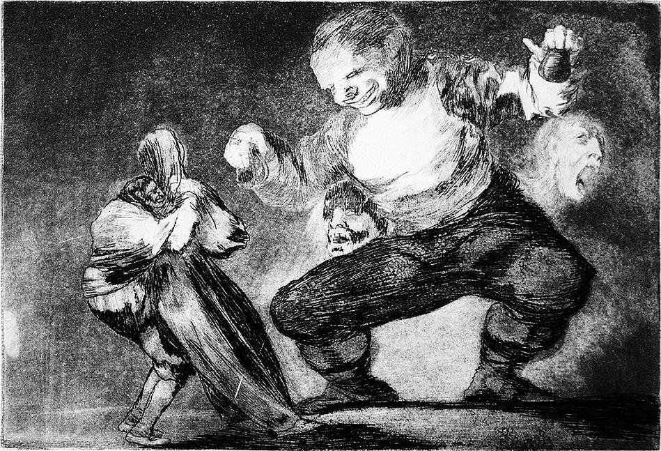 Francisco Goya se nebál kombinovat různé techniky zpracování grafických podkladů